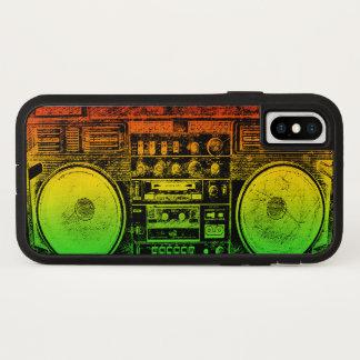 Rasta ghetto blaster iPhone x case