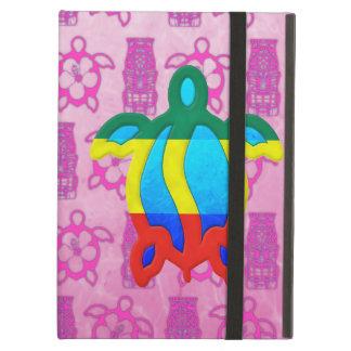 Rasta Honu Pink Tiki iPad Air Cover