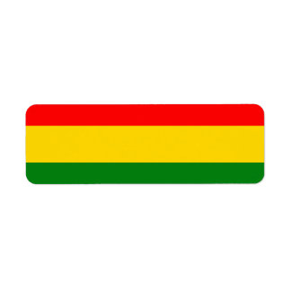 Rasta Label Return Address Label
