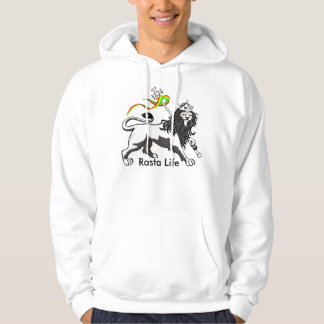 Rasta Life, Moletom with Basic Pointed hood Hoodie