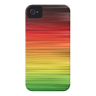 Rasta Lined Iphone 4 Case-Mate Case