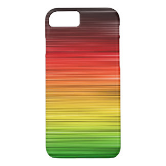 Rasta Lined iPhone 7 Case
