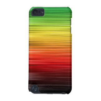 Rasta Lined Ipod Touch Case