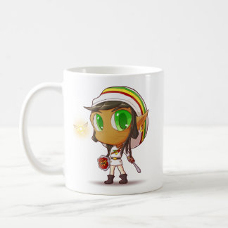 Rasta Link - Legend of Zelda Fan Fiction Apparel Coffee Mug