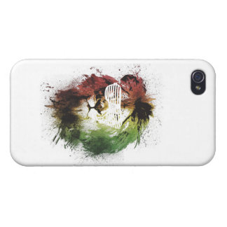 rasta lion iphone case iPhone 4 covers