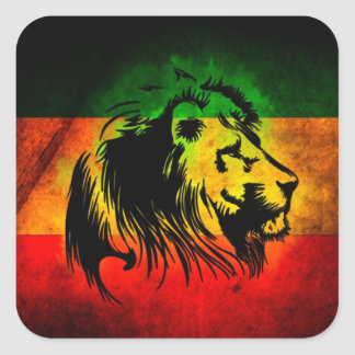 Rasta Lion sticker