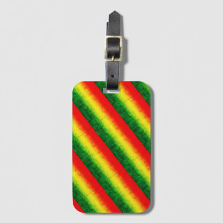 Rasta Luggage Tag