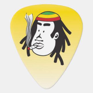 Rasta Man Reggae Guitar Pick Plectrum