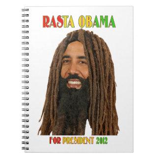 Rasta Obama for President 2012  Notebook