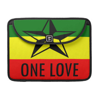 Rasta One Love MacBook 13 inch Sleeve