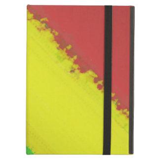 Rasta Paint Swipe iPad Air Cover