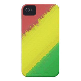 Rasta Paint Swipe iPhone 4 Covers