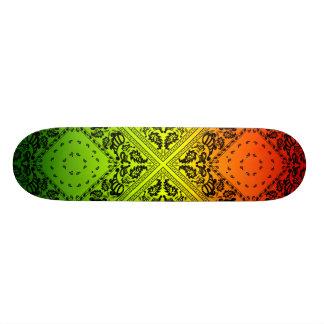 Rasta Paisley 20.6 Cm Skateboard Deck