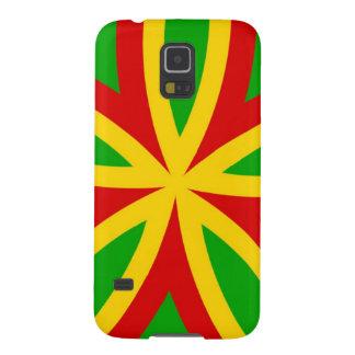 Rasta Pattern Galaxy S5 Cover