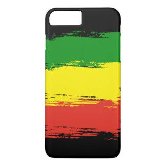 Rasta pattern iPhone 8 plus/7 plus case