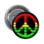Rasta Peace Button
