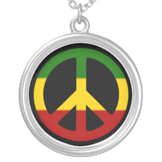 Rasta Peace Necklace