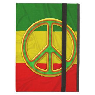 Rasta Peace Symbol iPad Air Cases