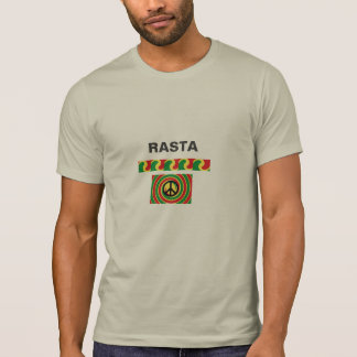 Rasta Peace: T-Shirt (Light)
