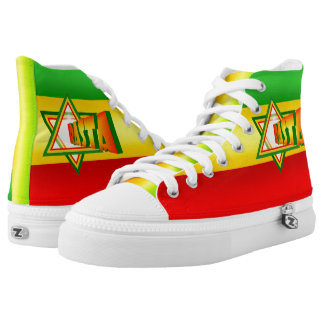 Rasta Printed Shoes