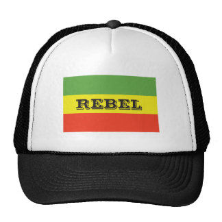 Rasta Rebel Flag Cap