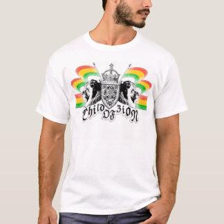 Rasta Reggae Crest T-Shirt