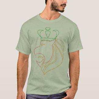 Rasta Reggae Crowned Lion T-Shirt