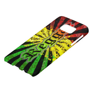 rasta reggae graffiti flag
