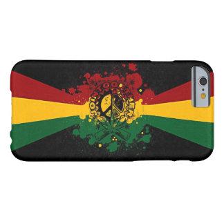 rasta reggae graffiti music art barely there iPhone 6 case