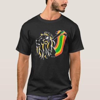 Rasta Reggae Lion Ascending T-Shirt