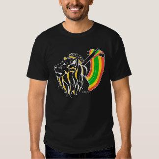Rasta Reggae Lion Ascending Tshirt