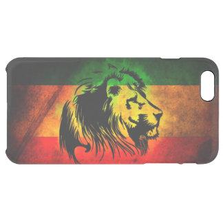 rasta reggae lion flag clear iPhone 6 plus case