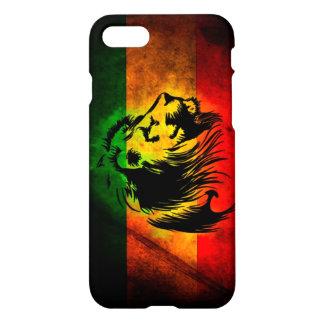 rasta reggae lion flag iPhone 7 case