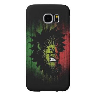 rasta reggae lion flag samsung galaxy s6 cases