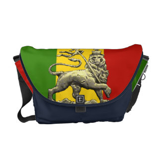 Rasta Reggae Lion of Judah Rickshaw Bag Commuter Bag