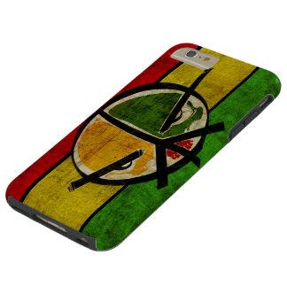 rasta reggae peace tough iPhone 6 plus case
