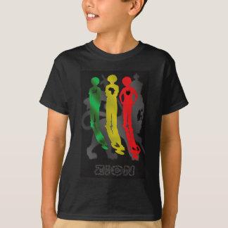 Rasta Reggae Zion Lion Africa to Jamaica T-Shirt