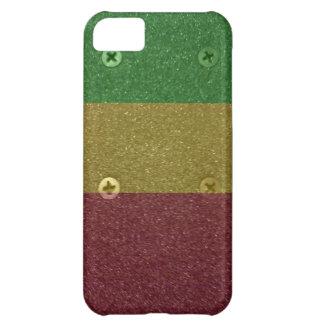 Rasta Skateboard Griptape iPhone 5C Case