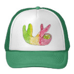 Rasta Sloth Snapback By Megaflora Trucker Hats