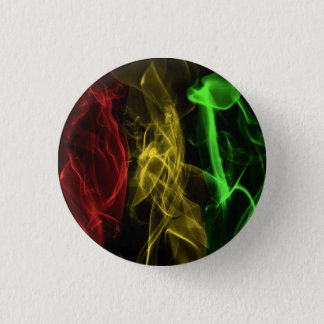 rasta smoke 3 cm round badge
