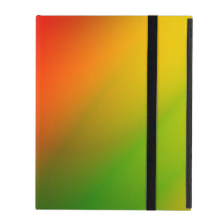 Rasta Splash of Color iPad Folio Case