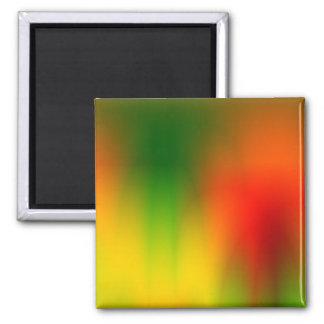 Rasta Splash of Color Magnet