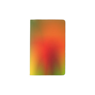 Rasta Splash of Color Pocket Moleskine Notebook