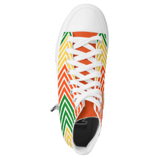 Rasta Stripes Printed Shoes