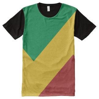 Rasta Stripes Shirt All-Over Print T-Shirt