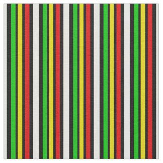 Rasta Stripes With Black Fabric