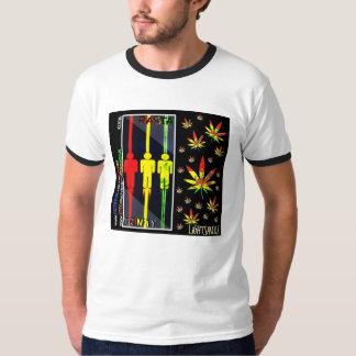 Rasta Trinity T-Shirt / LiGHTSHiRTZ by 4SEEDzDEZiG