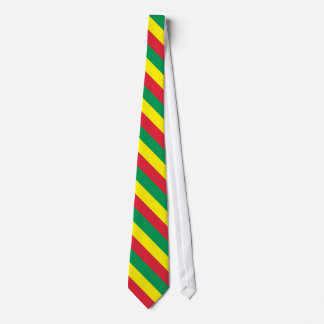 Rasta Wide Stripe Tie