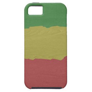 Rasta Wood Grain iPhone 5 Covers