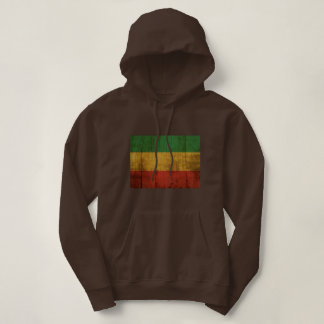 Rastafara flag - Jah Rastafari Rasta Queen Hoodie